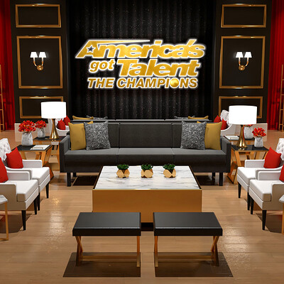 America's Got Talent: The Champions - Holding Room