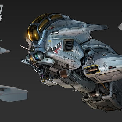 Samuel aaron whitehex wasp drone concept 01