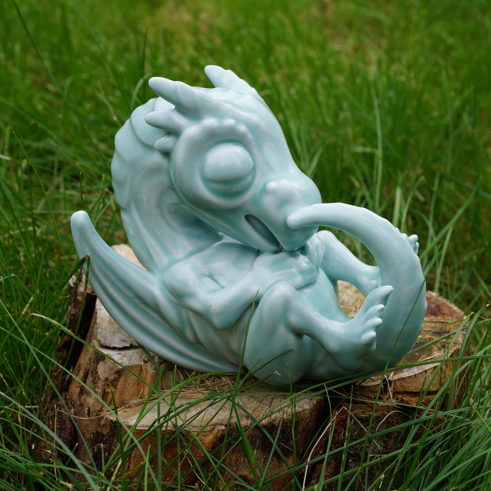 Porcelain Dragon Print