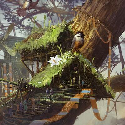 Nate abell leaflance village 03