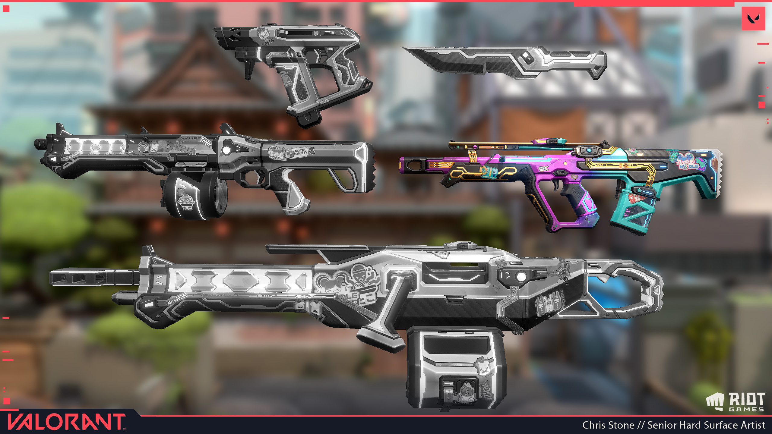 Responsible for Bulldog Blockout through Textures. Worked with our outsource managers to ensure the other weapons met the quality bar that we set internally.