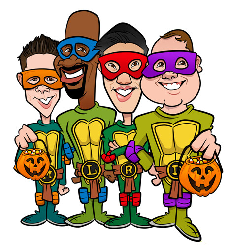 TMNT Halloween costumes