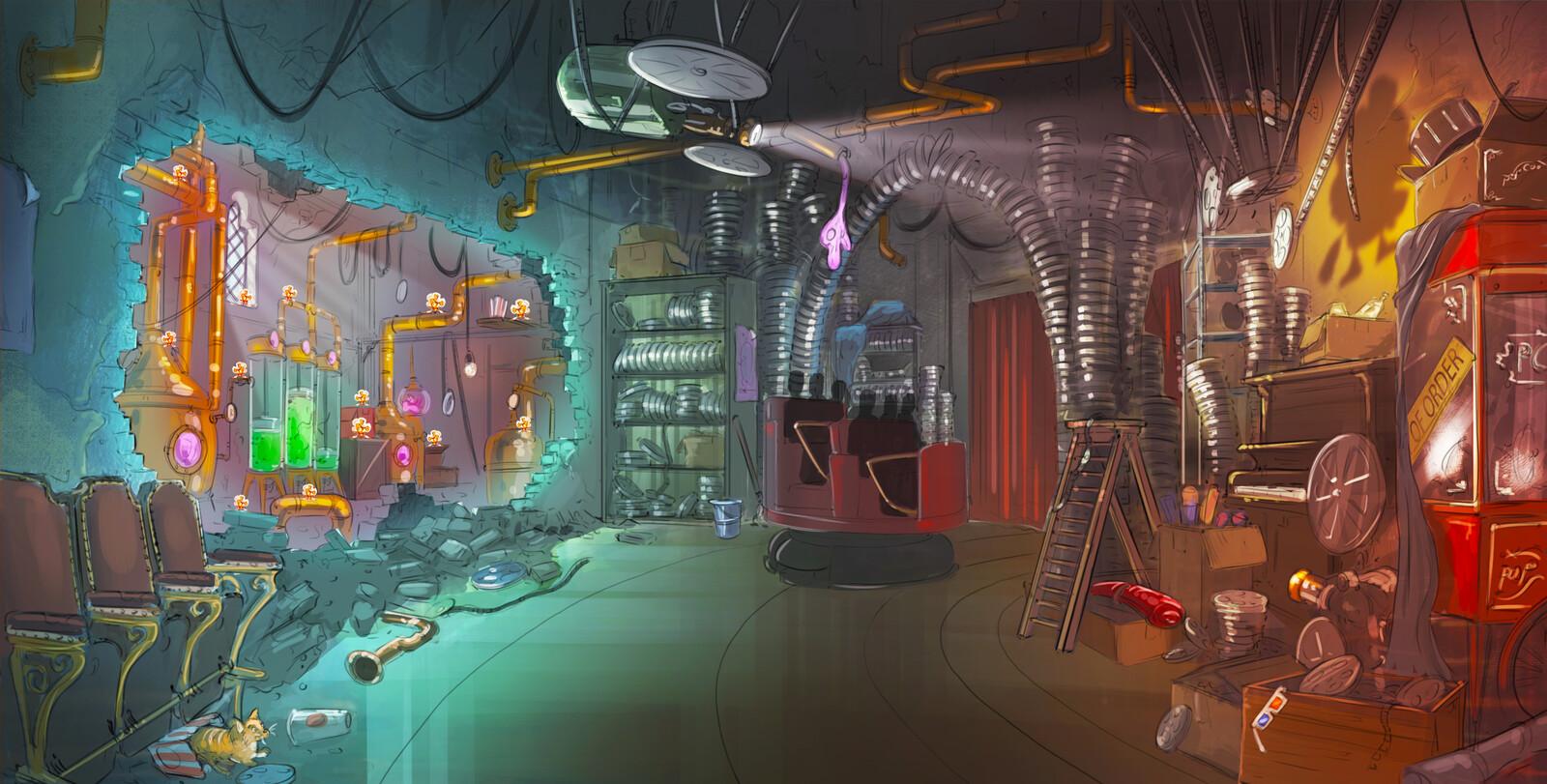Final scene concept