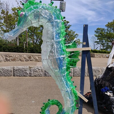 Recycled Seahorse Project