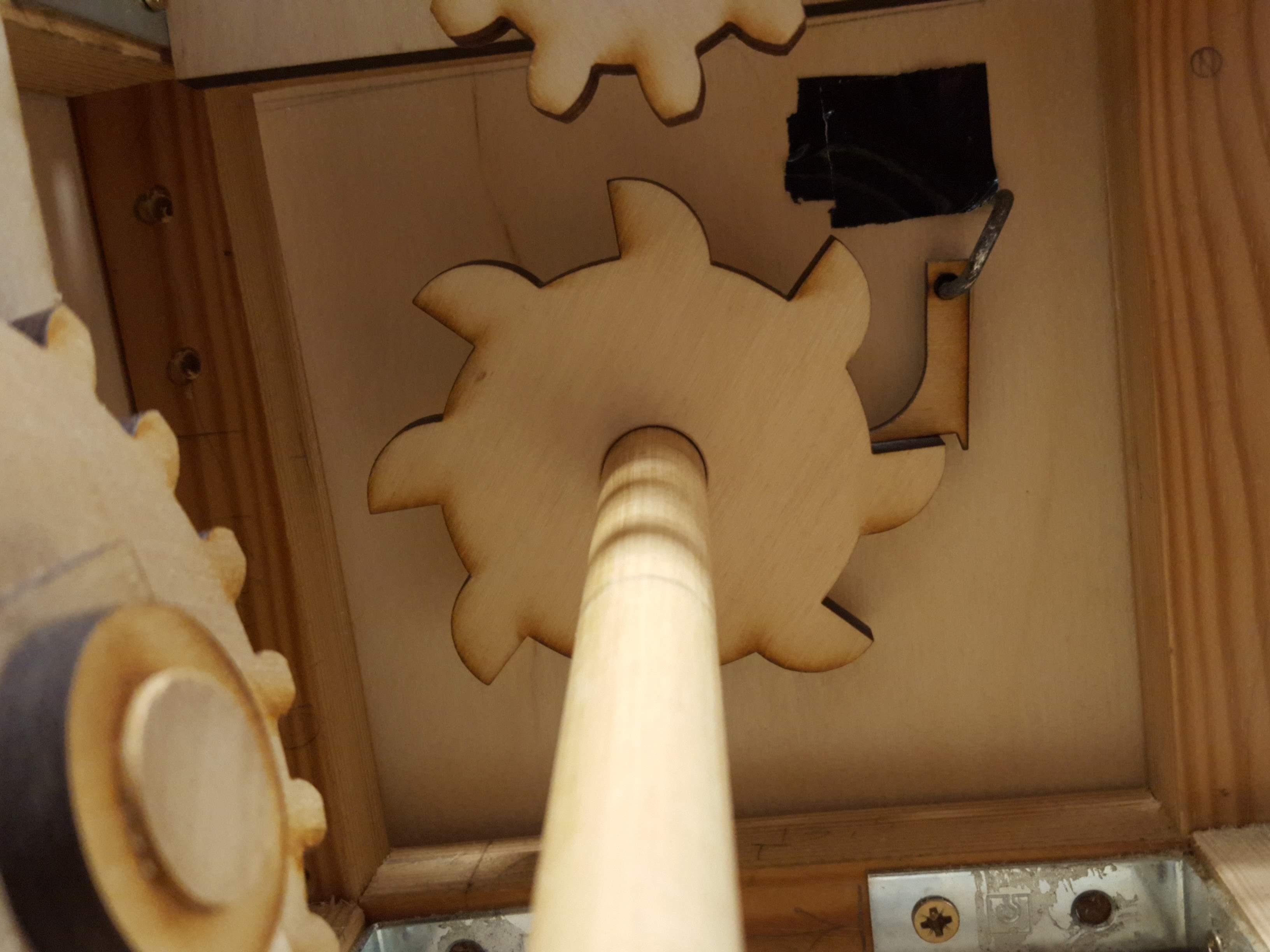 Ratchet Mechanism Inside Box