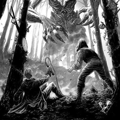 Sebastian cabrol hada bosque