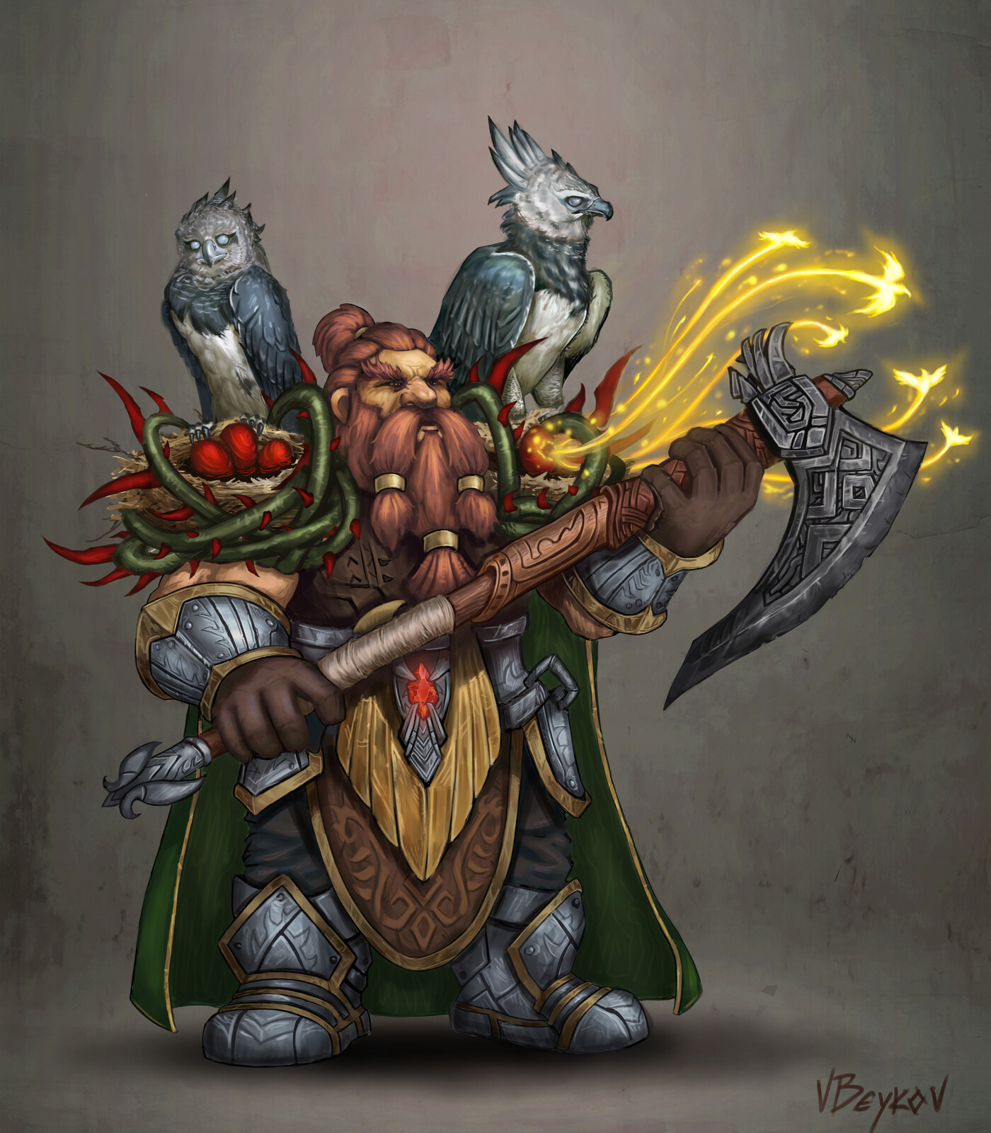 Dwarf Enchanter
