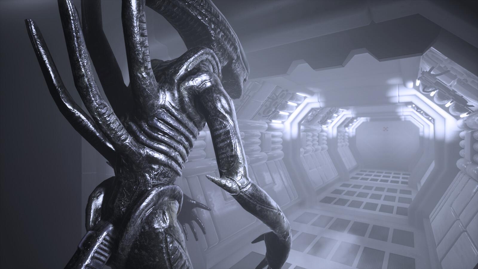Alien Xenomorph - Unreal Engine 4