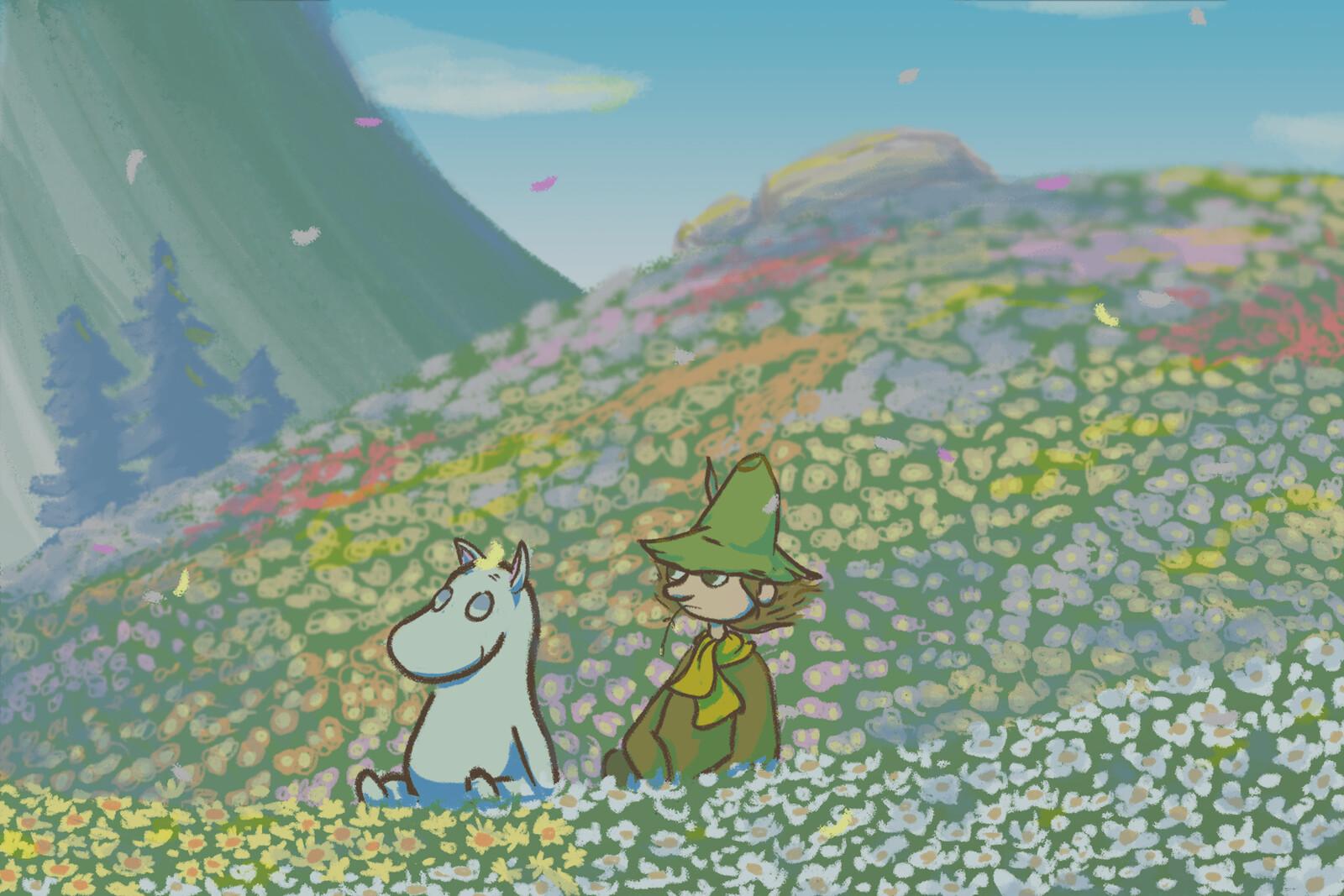 Moomin Flower Field