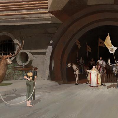 Wojciech bajor wojciech bajor deer offering tunnel lr2