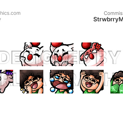 Aerlya graphics sample strwbrrymoogle emotes