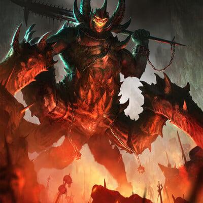 Eryk szczygiel demons typhonart wwg 3