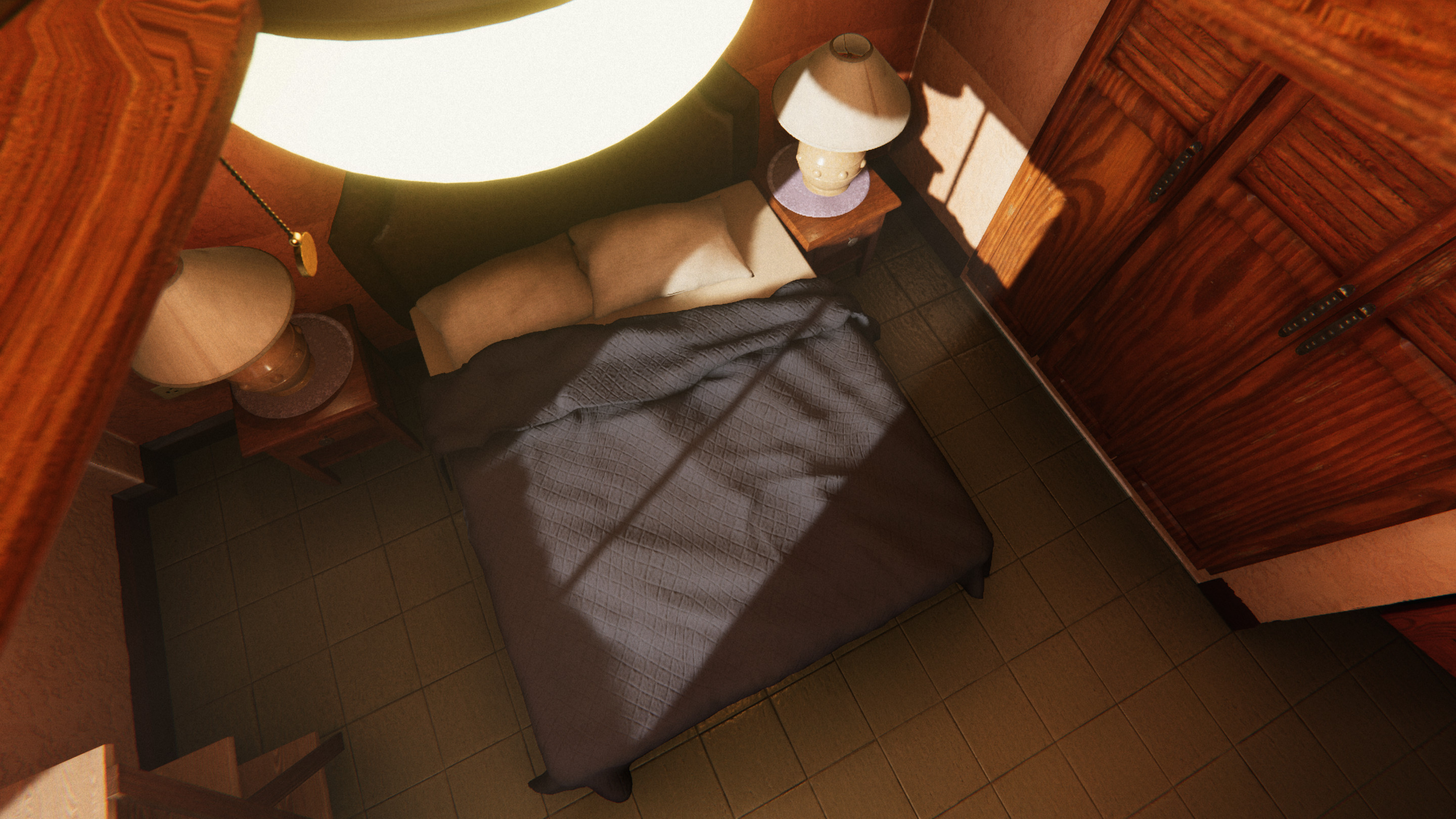 Using HDRP material and lighting features create really beautiful light interaction on and inside of surfaces.