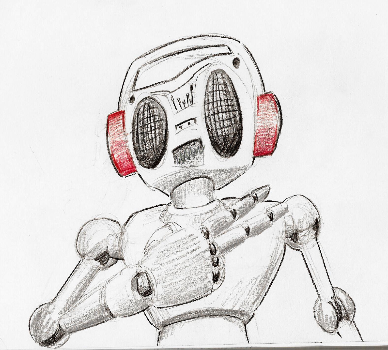Boombox Bot Sketch