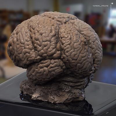 Surajit sen thinking machine digital sculpture surajitsen aug2020 a