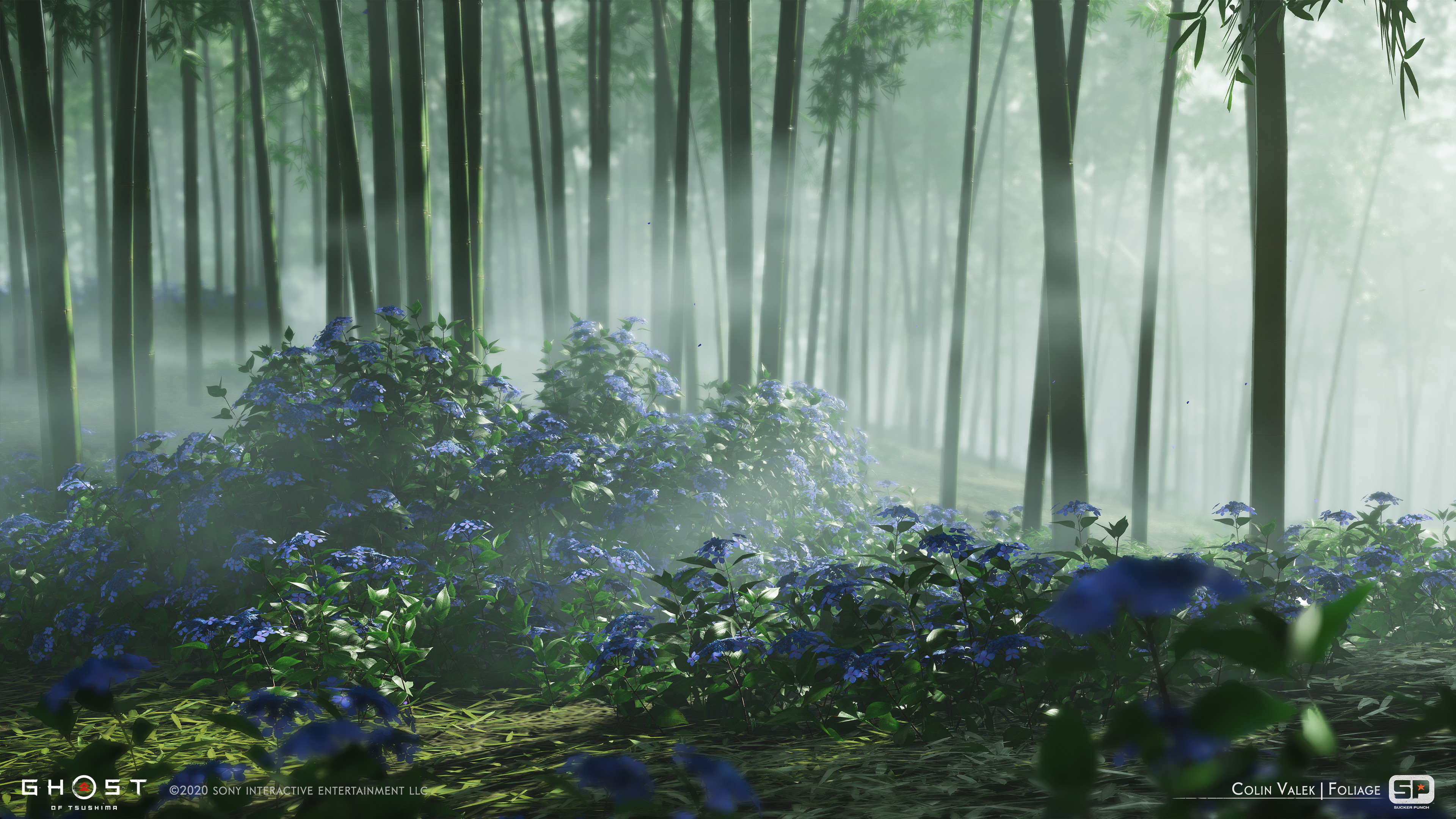 Blue Hydrangeas used for the Uchitsune mission