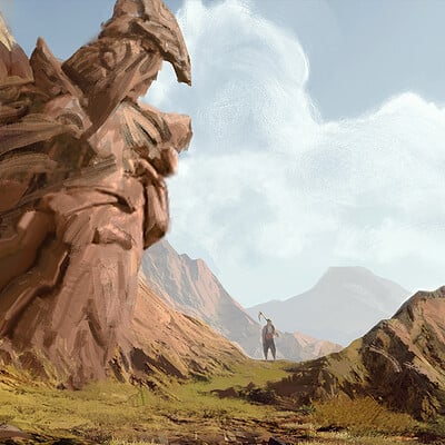 Mehmet ozen seyyah graphic novel concept art illustration ins k