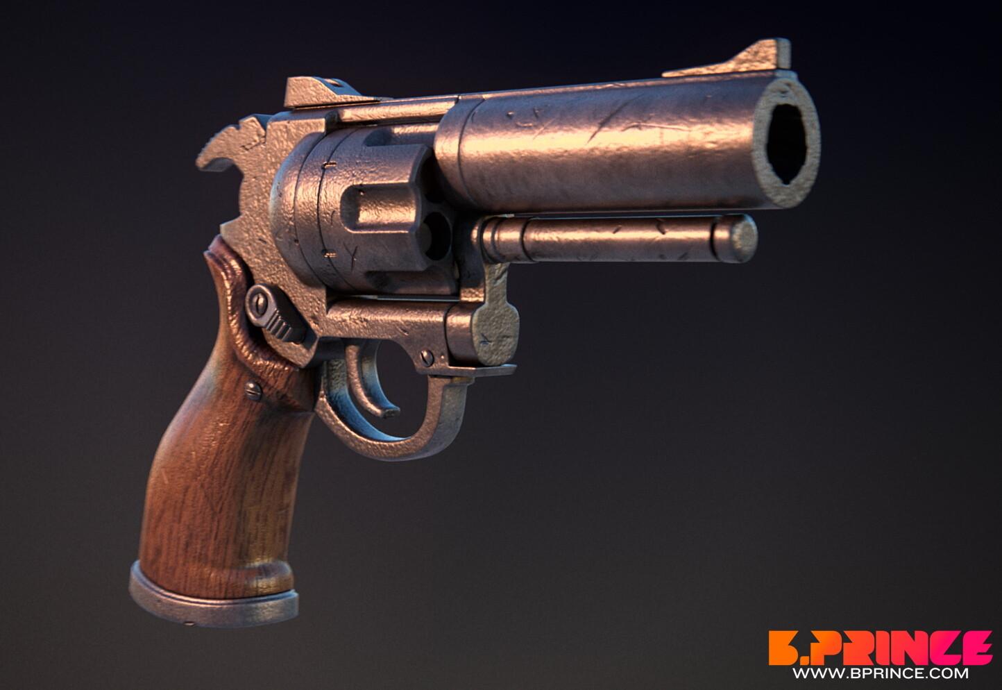 The Goon's revolver