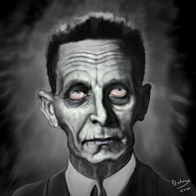 Darrell abney zombiepaintingbw v2