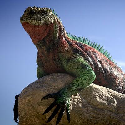 Eric keller iguana render 01