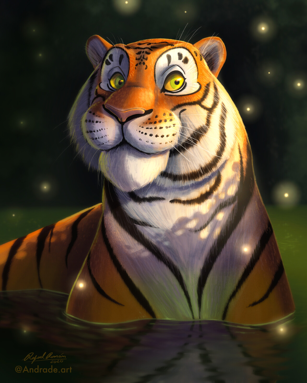 Happy Tiger!