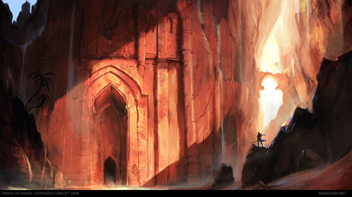 Prince of Persia : Temple Facade
