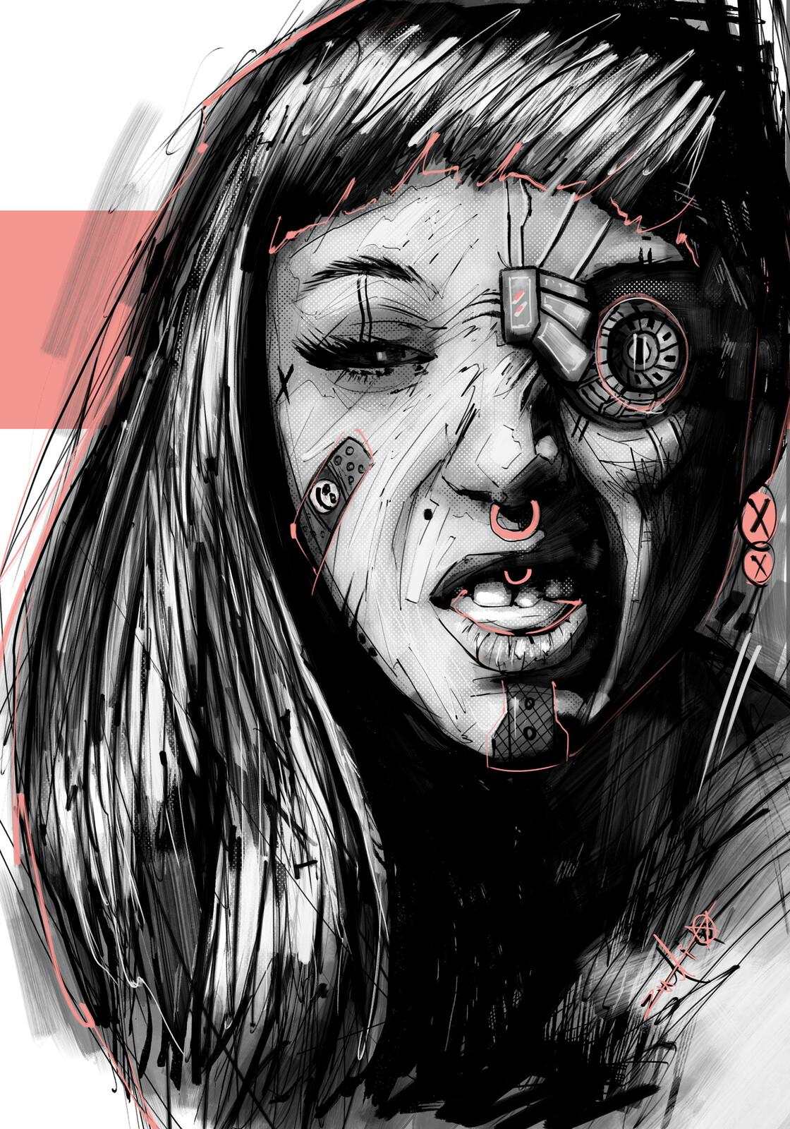 Lz Face 011 // Marina