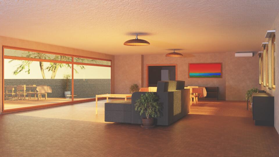 Sunlit Room 2