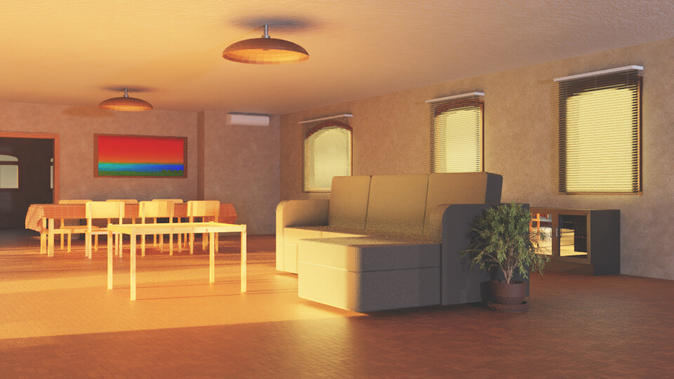Sunlit Room 3