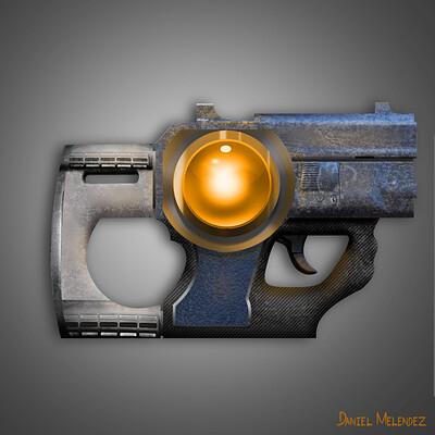 Daniel melendez boelian alien human hybrid gun finished