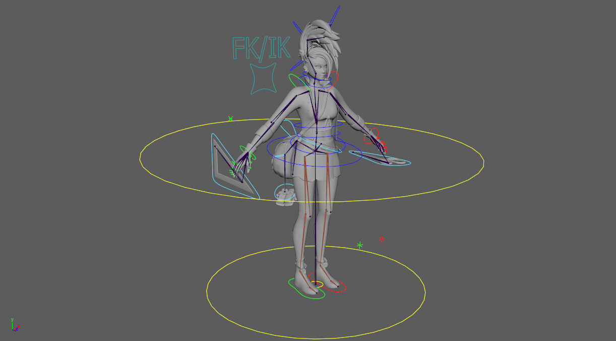 Full Rig without textures
