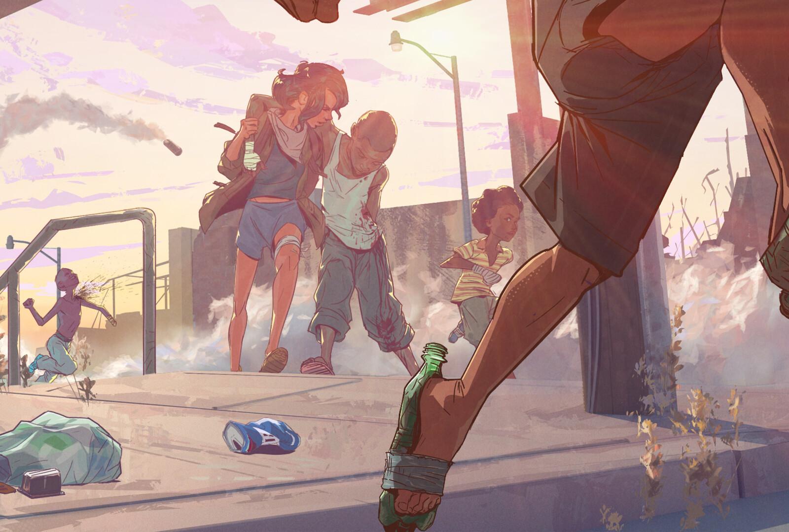 detail1. Bottle shoes, man.  Bottle shoes.