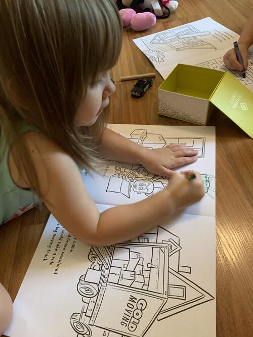 Grace coloring