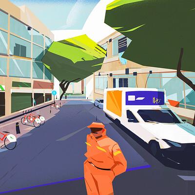 Antar calle