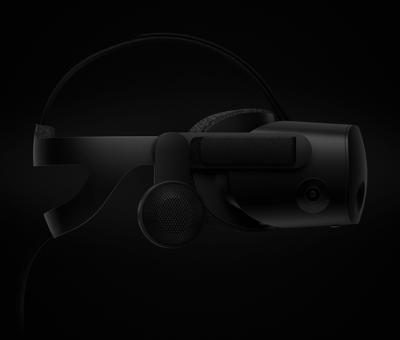 VR Headset Side Profile