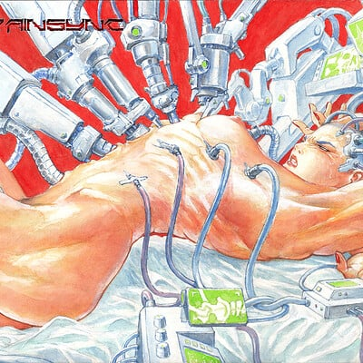 Atom cyber painsync full view