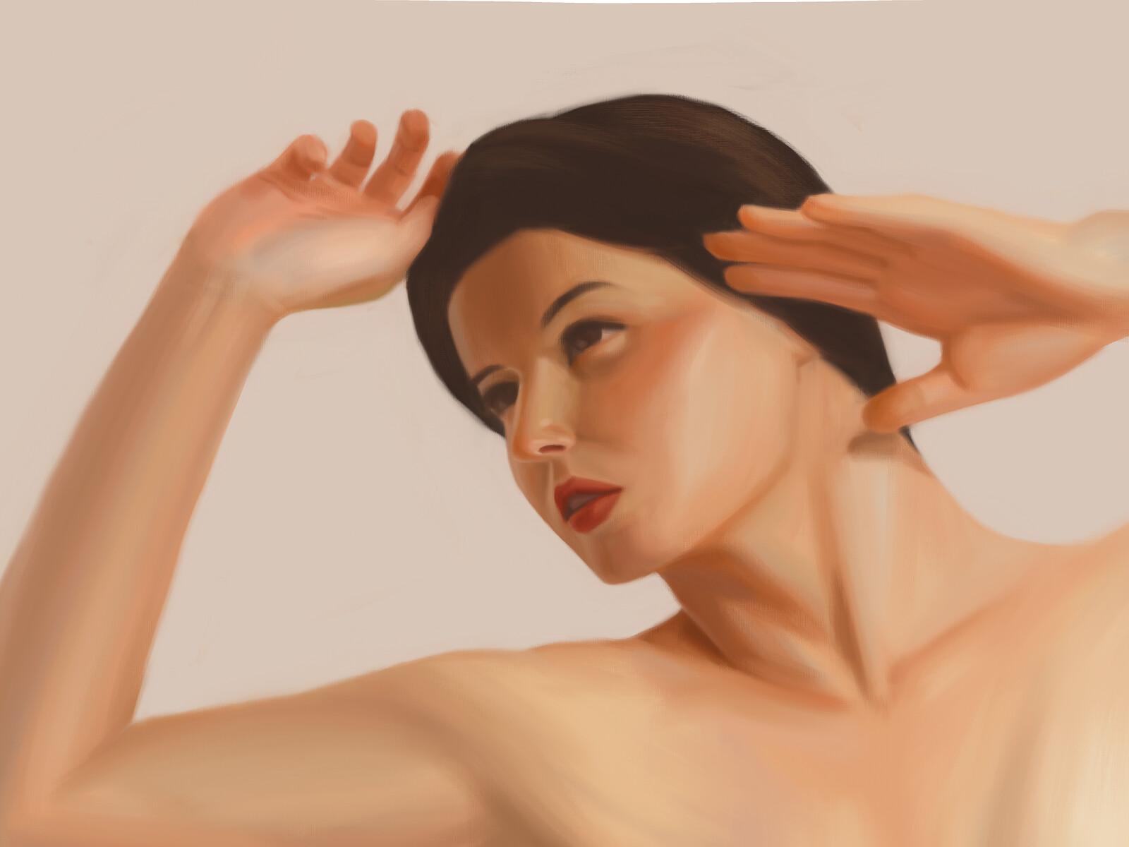 Portrait study - July 2020