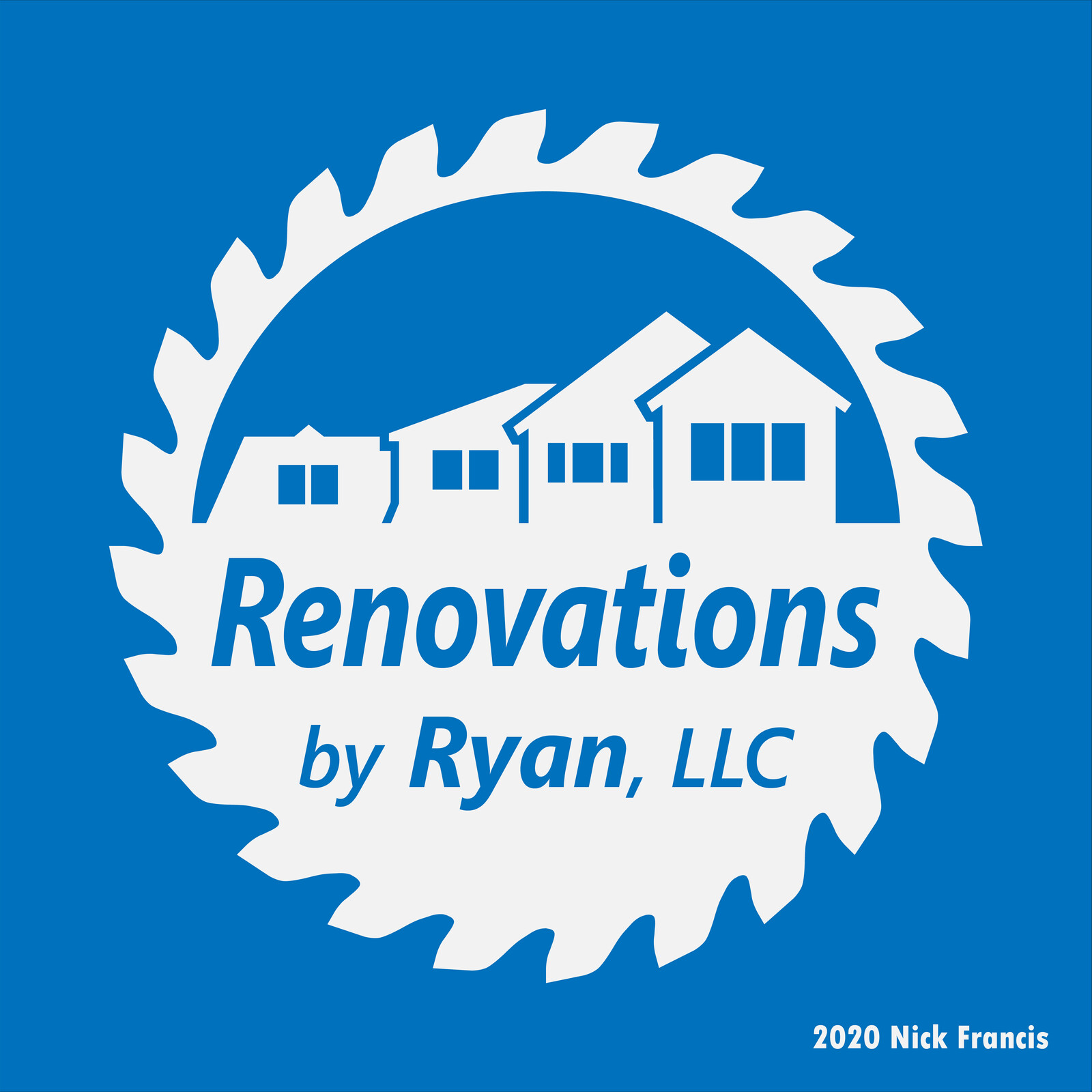 Renovations By Ryan, LLC Logo Design