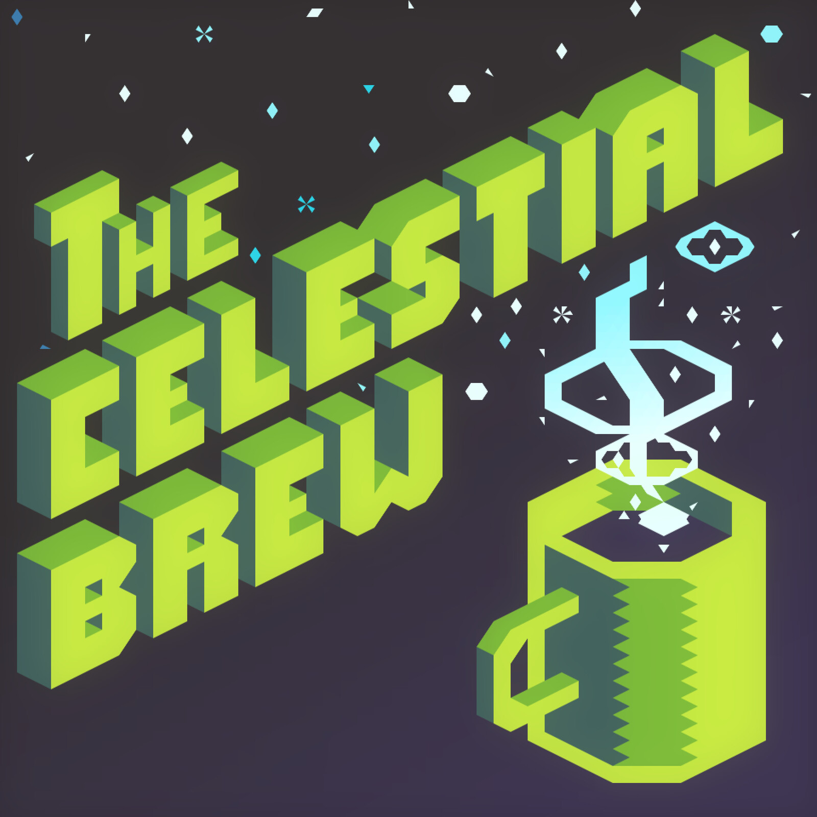 The Celestial Brew Podcast Logo