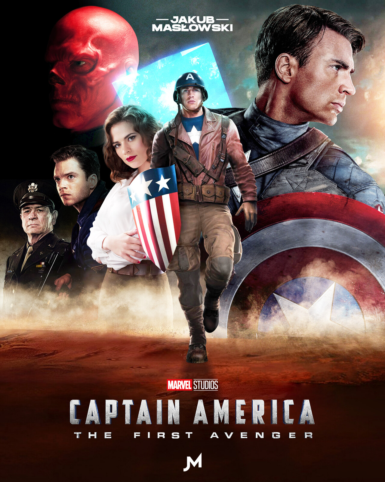ArtStation   Captain America The First Avenger, Jakub Masłowski