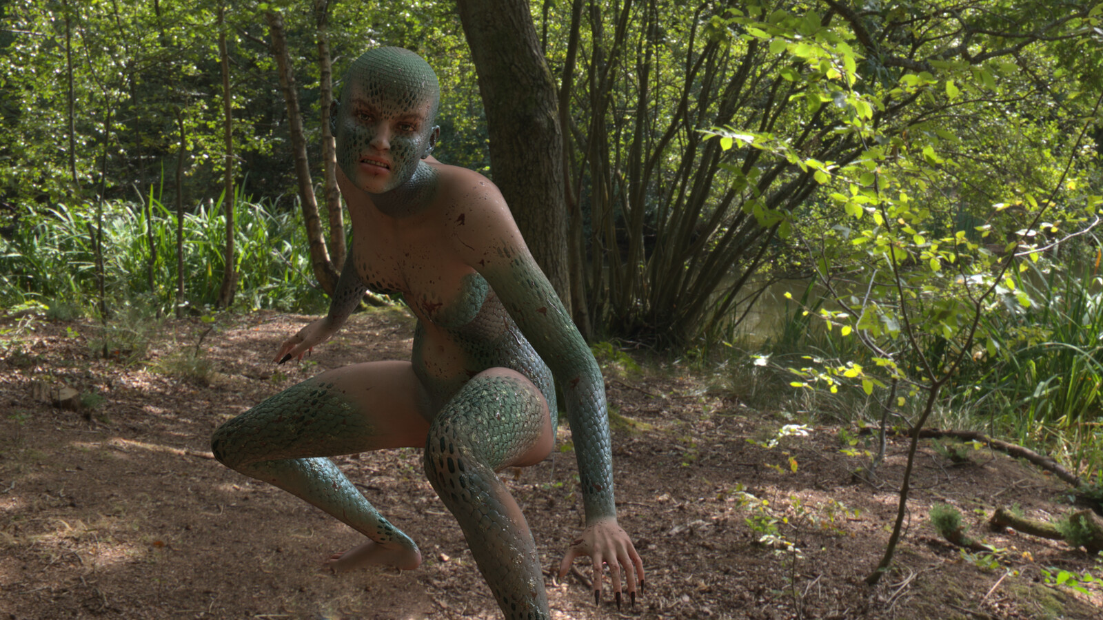 Reptile Girl