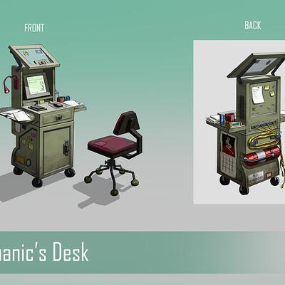 Ada huttula computerdesk