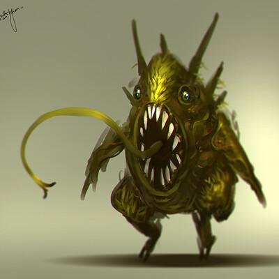 Benedick bana creature design fishy final