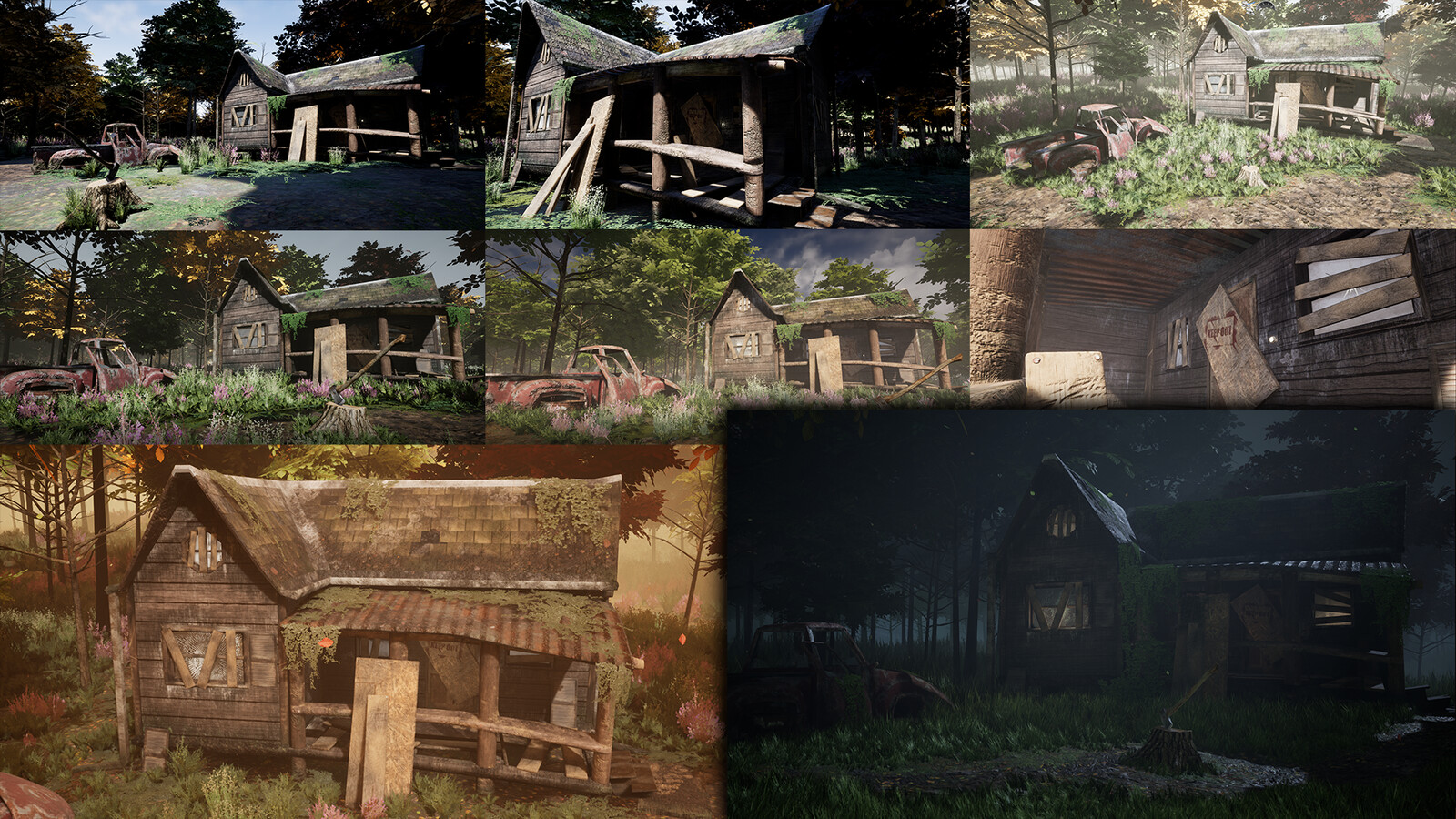 Progression of the project.