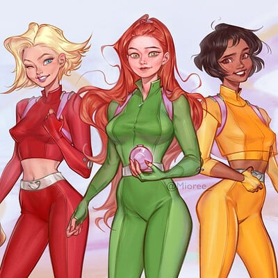 Mioree totally spies fanart 2020 web h1080p