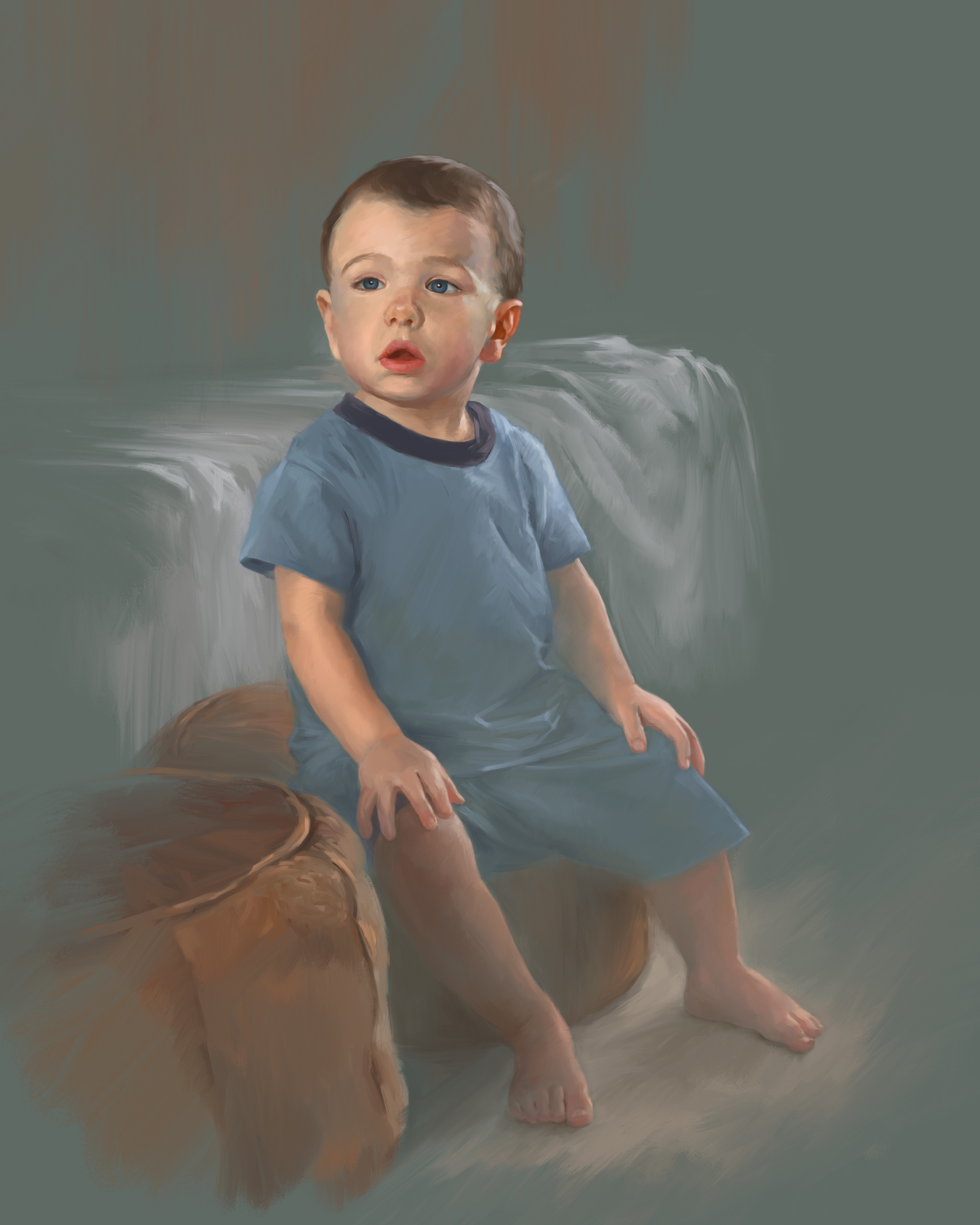 Painted using Autodesk Sketchbook Pro.