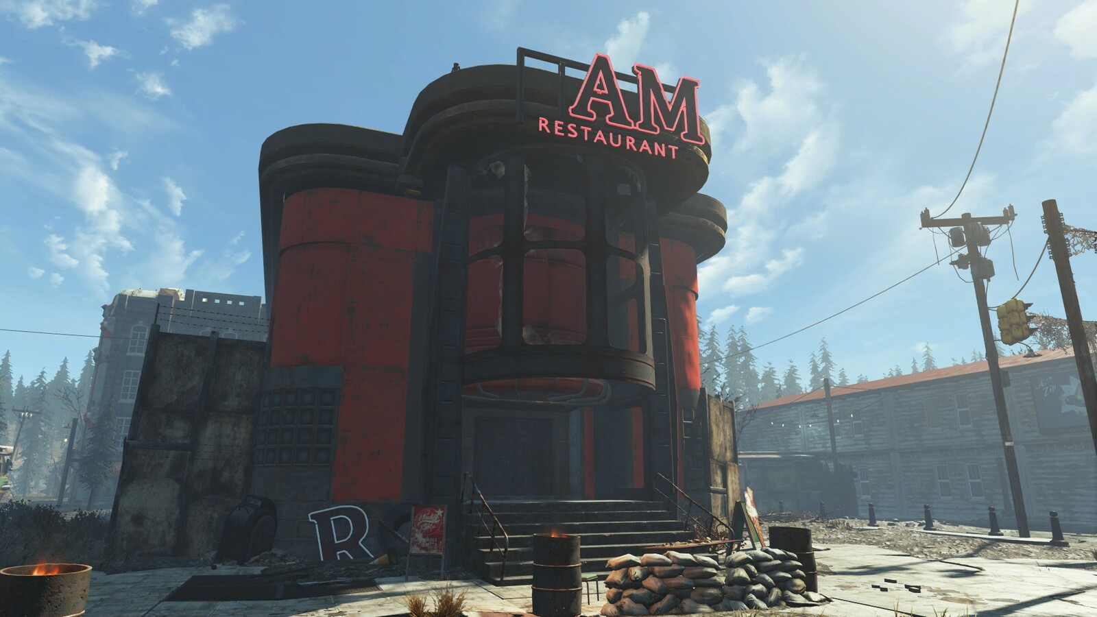 3D Modeling - Fallout Cascadia Assets - Signs and Neons