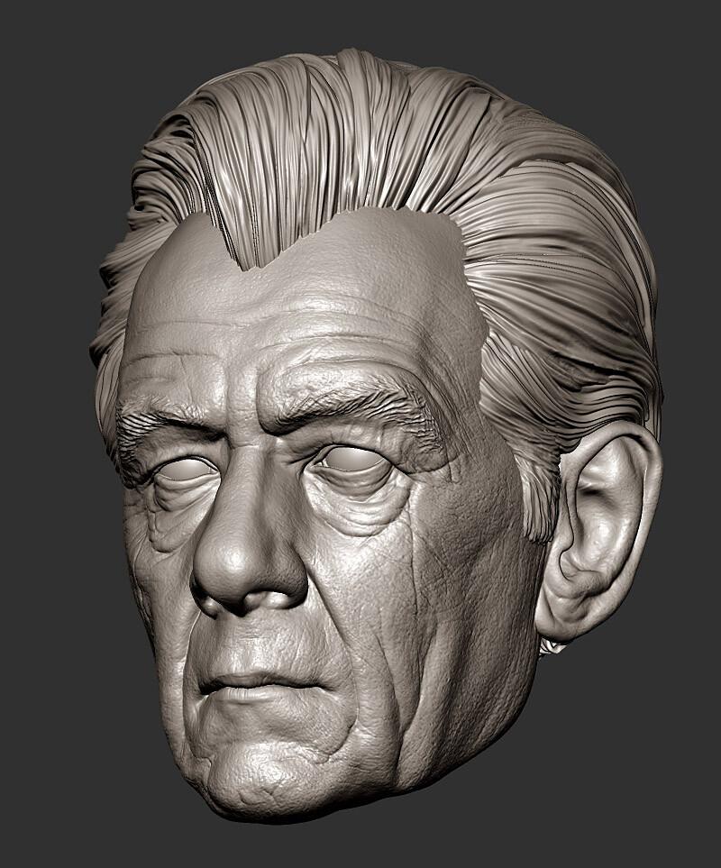 Magneto - McKellen portrait study