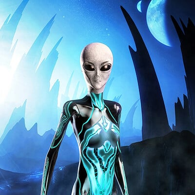 Luca oleastri alien moon