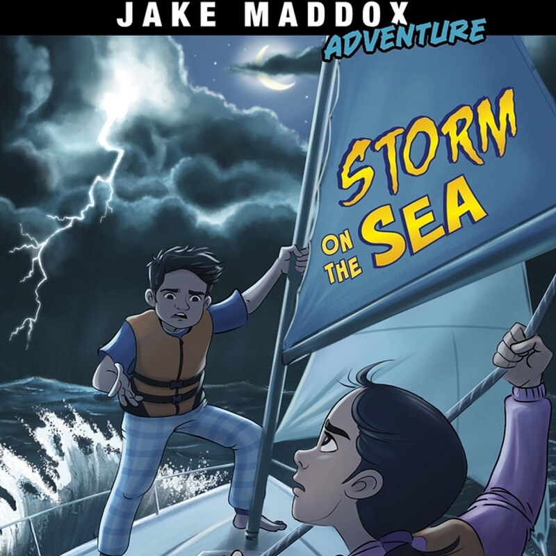 Jake Maddox Adventures – Storm on the Sea by ©Capstone